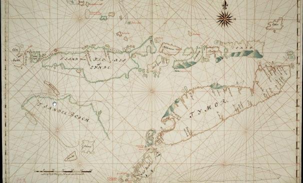 Map Timor