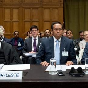 Timor-Leste membawa Australia ke Istana Perdamaian di DenHaag
