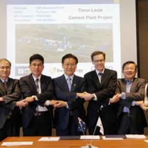 Perusahaan Korea menangkan proyek investasi terbesar diTimor-Leste
