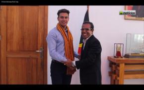 Atlit Ski Timor-Leste ikut OlympiadeSochi