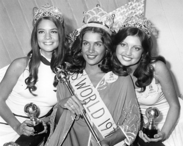 Miss World 1976, Cindy Breakspeare. [sumber: Central Press/Getty Images]