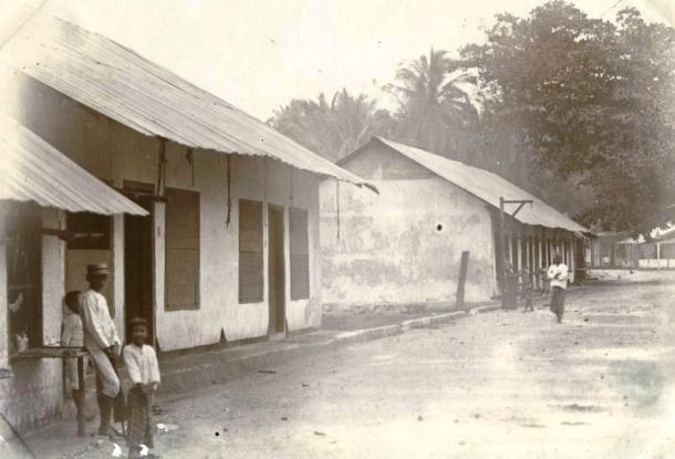 Namodale, Rote, tempat kelahiran Gerson Poyk, sekitar tahun 1920. [Foto: KITLV]